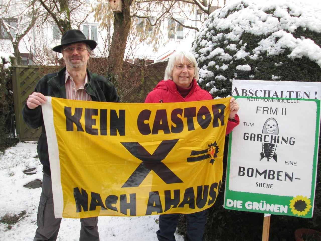 Werner Thiel und Ingrid Wundrak in Garching